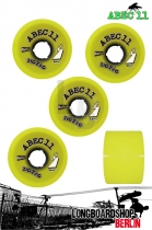 ABEC11 Rollen ZigZag Reflex Wheels 66mm 83a