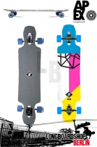 Apex Avenue Maple Neon Longboard Komplett