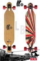 Apex Longboard Komplett Diablo Bamboo Flex2