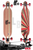 Apex Diablo Maple Flex2 Longboard Komplett