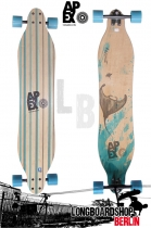 Apex Longboard Komplett Stingray Maple Flex2