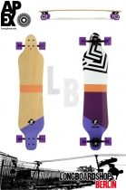Apex Longboard Serpentine Maple