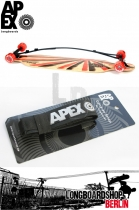 Apex Tragegurt Longboard Carry On Strap - Silber