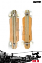 Apollo Kauai TwinTip DT Türkis Komplett Longboard