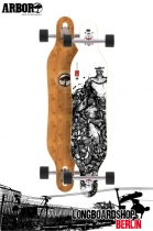 Arbor Axis Bamboo Drop Thru Longboard