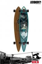 Arbor Timeless Walnut Komplett Longboard