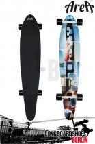 Area Longboard San Fran Kicktail Komplett Longboard