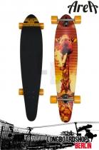 Area Longboard Safari Kush Kicktail Komplett Longboard