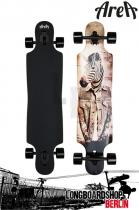 Area Longboard Zebbie Drop Thru Komplett longboard
