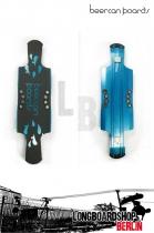 Beercan Kegger Lite Longboard Deck blue 40