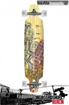 """Bustin KPL Mission 40"""" Longboard Komplett"""