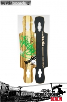 "Bustin Longboard Deck Maestro Mini Limba 34"" 86cm"