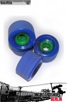 Bustin Rollen Swift Freeride 70mm 78a Wheels - Blue