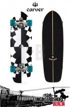 Carver Fraktal C7 Longboard Complete