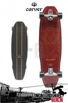 Carver Tyler Riddler Longboard C7 Komplettboard