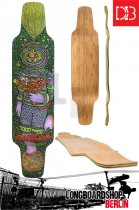 DB The Cosmonaut Longboard Deck 41