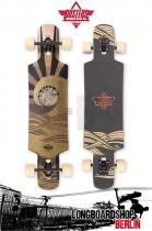 Dusters Longboard Terra Brown komplett