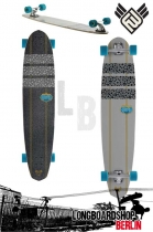 "Flying Wheels Aladin 45"" Longboard"