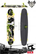 Flying Wheels Dancing Dead 48 Bamboo longboard Komplett