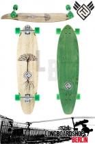 Flying Wheels Earthtree 37 Bamboo Longboard Komplett