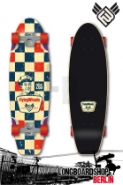 Flying Wheels Gasoline Mini Cruiser Longboard