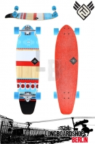 Flying Wheels Mohave 34 Bamboo Longboard Komplett