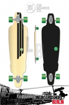 Flying Wheels Rig 38.5 Longboard komplett Natural