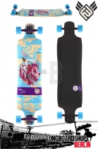 Flying Wheels Sky Cat 39 Longboard Komplett