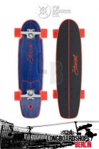 "Flying Wheels Stewart Hull 28"" Longboard Navy"