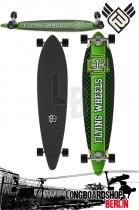 Flying Wheels Varsity 43 Lime Celtic Komplett Longboard