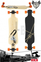 Flying Wheels Whip 39.5 Bamboo Longboard Komplett