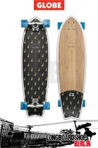 GLOBE Chromantic Longboard Black/Pineapple/Bamboo complete