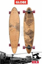 GLOBE Pinner Longboard Marbled Black Komplettboard