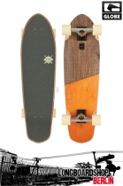 Globe Big Blazer Mini Longboard Cruiser Off Brown/Orange