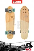 Globe Big Blazer Mini Longboard Cruiser Bamboo Almond