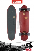 Globe Big Blazer Mini Longboard Cruiser Cherry Bamboo