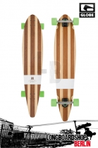 Globe Big Pinner Bamboo 44 Komplett Longboard