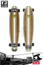 Globe Continental Bamboo Longboard Black