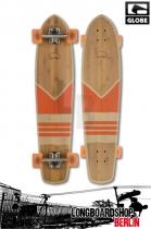 Globe Del Rey Cruiser Longboard Bamboo Orange