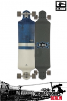 Globe Geminon Drop Down Blue/Diamond/White Longboard