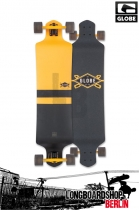 Globe Geminon Drop Down Longboard Fluoro Yellow/Black
