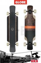 Globe Geminon KickBurle Black Longboard