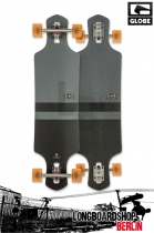 Globe Geminon Longboard Charcoal Black