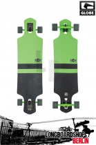 Globe Geminon Longboard Fluoro Green Black