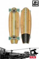 Globe Pin City Bamboo Clear Water/Green Longboard