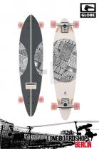 Globe Pinley 33 White/Wandjina Komplett Longboard