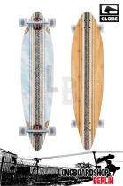 Globe Pinner Bamboo Sky Komplett Longboard