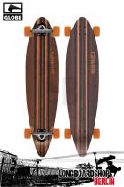 Globe Pinner Black/Orange Longboard