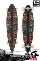 Globe Pinner Design Black/Red/Pakkalolo Longboard