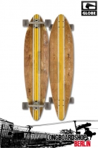Globe Pinner Brown/Yellow Longboard